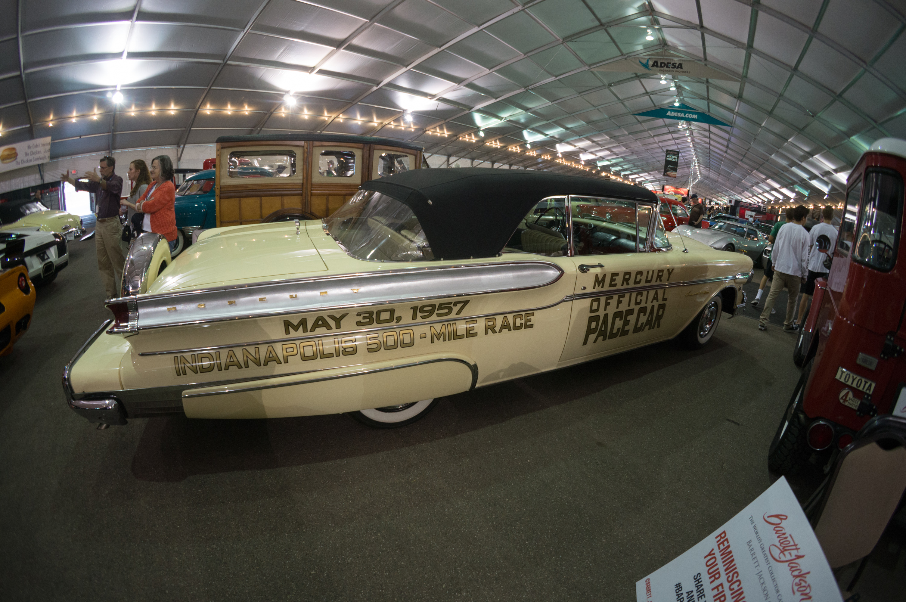 1957 mercury turnpike cruiser pace car convertible - 1957 Mercury Turnpike Cruiser Indianapolis Pace Car